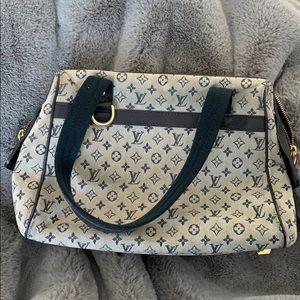 Louis Vuitton blue monogram bag purse